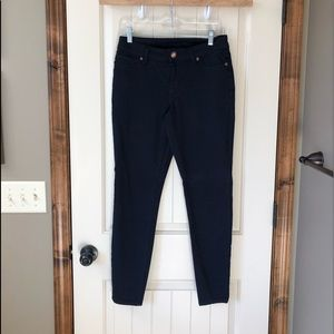 Worn once navy jeggings